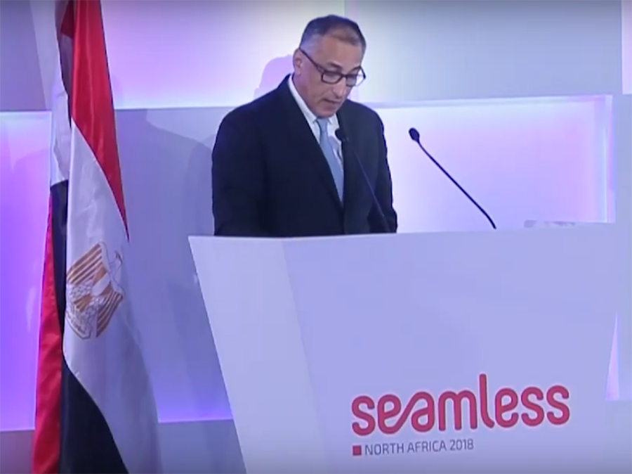 H.E. Tarek Amer Governer of Central Bank of Egypt - Keynote speech at Seamless 2018 Conference