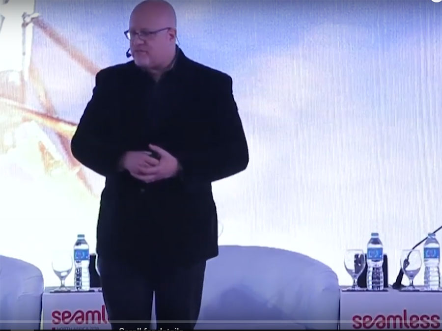 Mr. Brett King's talk about Adapting in a FinTech Age at Seamless 2018 Conference