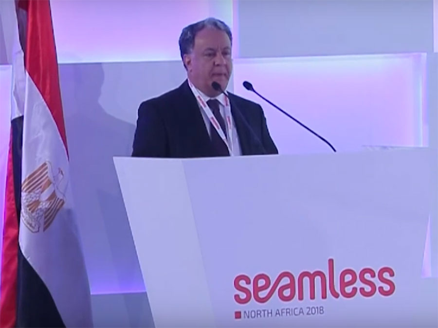 Mr. Mohamed Al Rabie – Keynote speech at Seamless 2018 Conference
