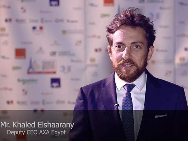 Mr. Khaled Elshaarany, Deputy CEO AXA Egypt