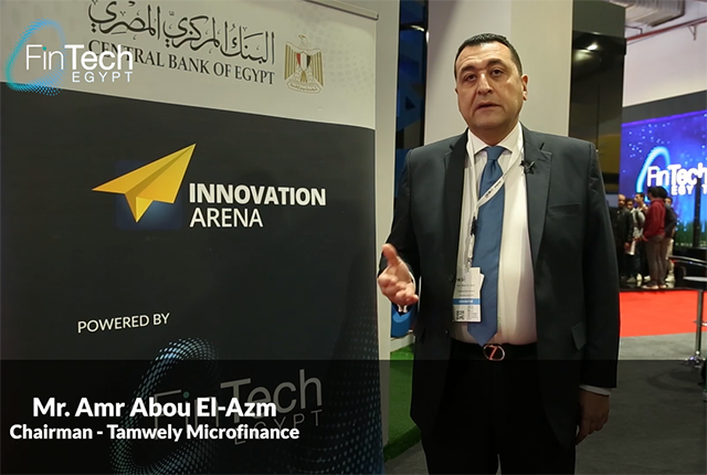 Mr. Amr Abou El-Azm, Chairman - Tamwely Microfinance